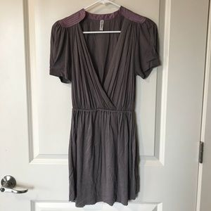 Free people mini wrap dress